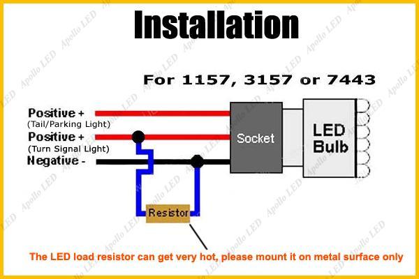 Led Turn Signal Resistor Wiring Diagram Wiring Diagrams – Led Turn Signal Lights Wiring Diagram