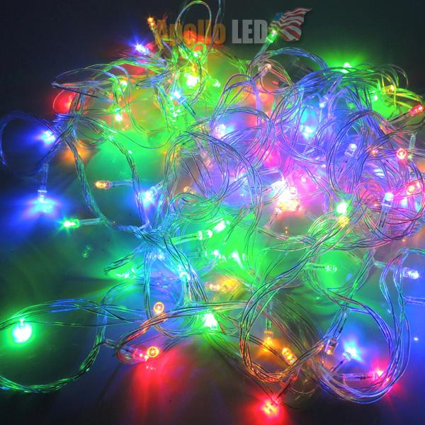 Chainable 33 Feet 100 LED Christmas Tree Party Wedding String Fairy Color Light eBay