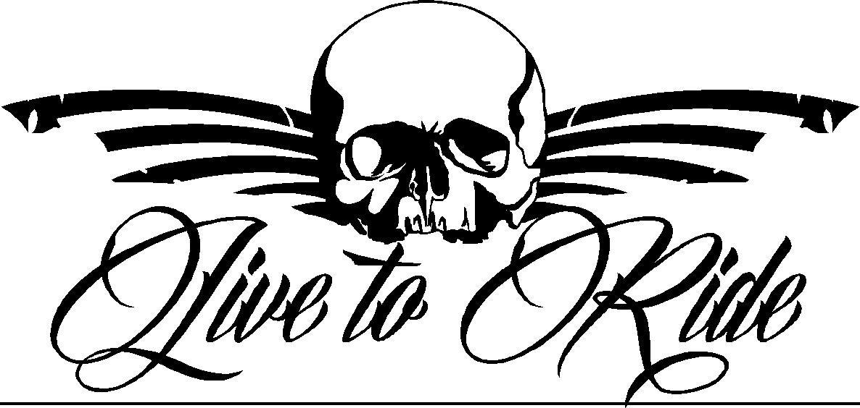 tattoo style skull sticker 200mm wide skull bike scooter vespa vw sticker 005 ebay. Black Bedroom Furniture Sets. Home Design Ideas