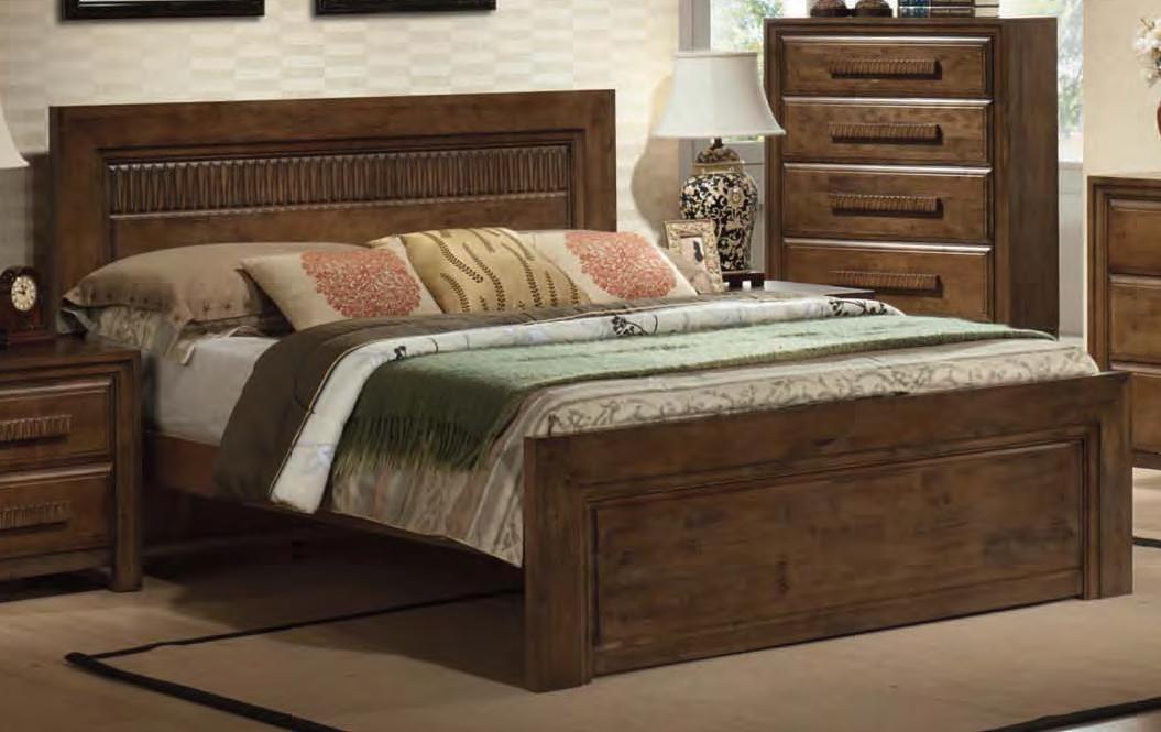 description - Solid Wood Bed Frame
