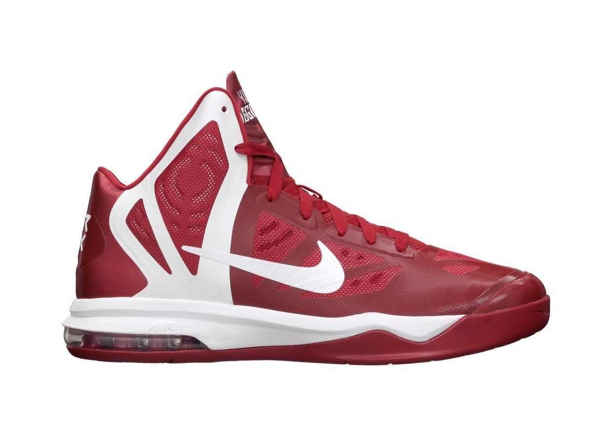 NEW Nike Air Max Hyper Aggressor 524867-600 Gym Red ...