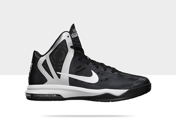NEW NIKE Air Max Hyper Aggressor 524867-001 Gym Black ...
