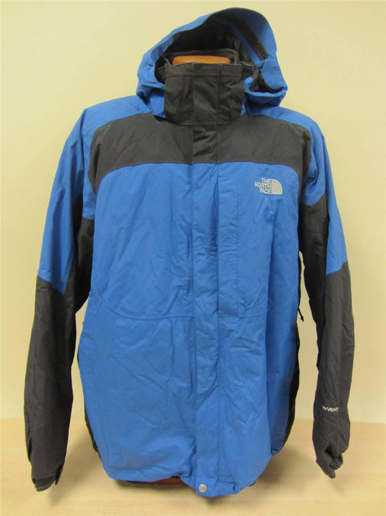 Buy North Face Mens 3 In 1 Jackets - Itm The North Face Mens Odyssey Triclimate 3 In 1 Jacket Grey Blue Sz Xl Large Nice  221317853750