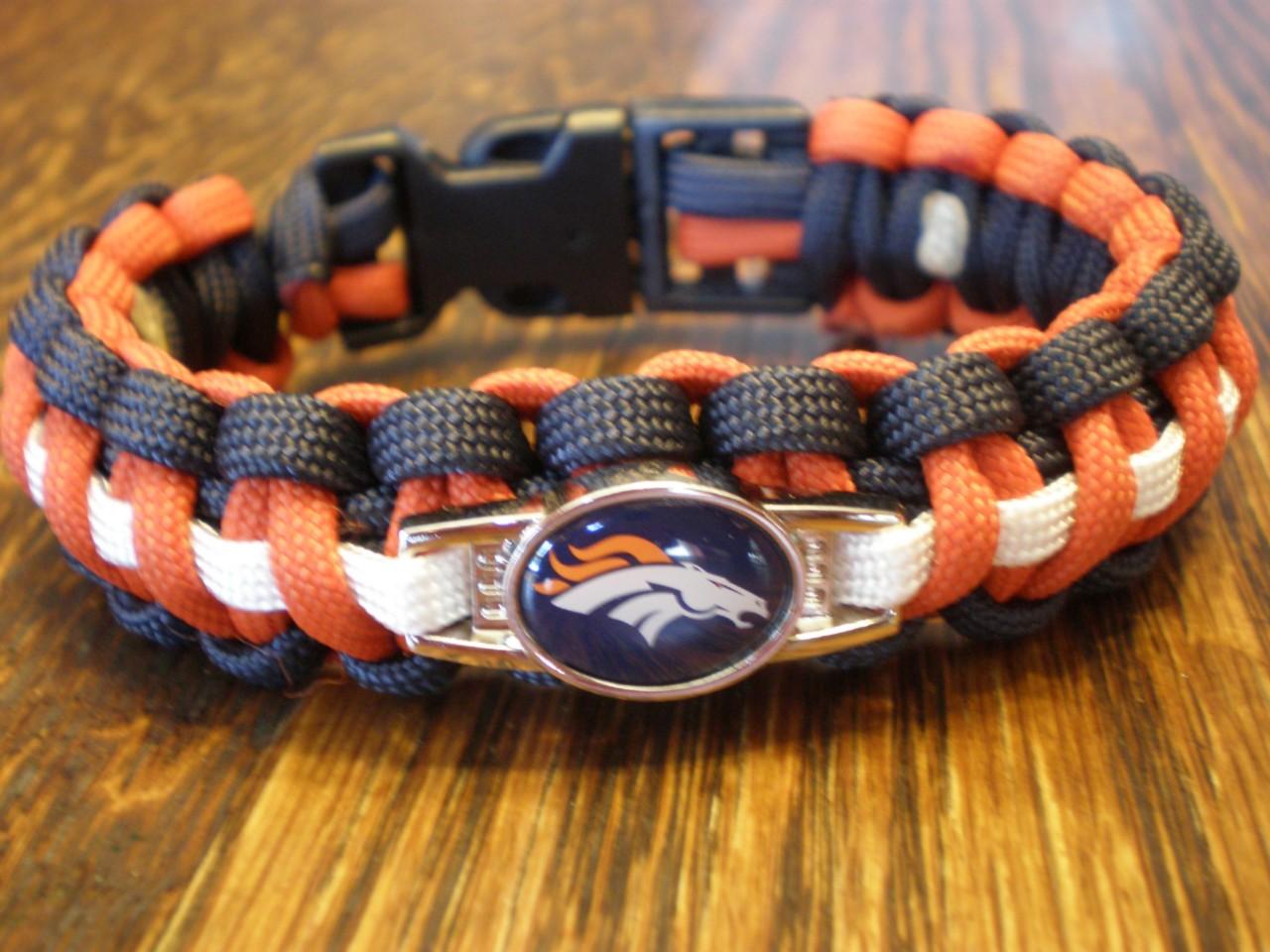 nfl paracord bracelet custom made official nfl licensed