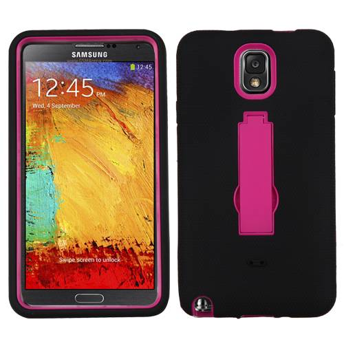 *FREE Screen Protector* Samsung Galaxy Note 3 Full Armor Case Cover with Stand