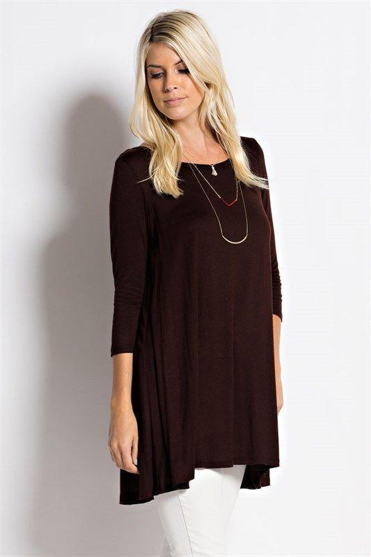 Cool Latest Trends In Womenu0026#39;s Fashion | Brown Fancy Sleeve Tops| Boer And Fitch