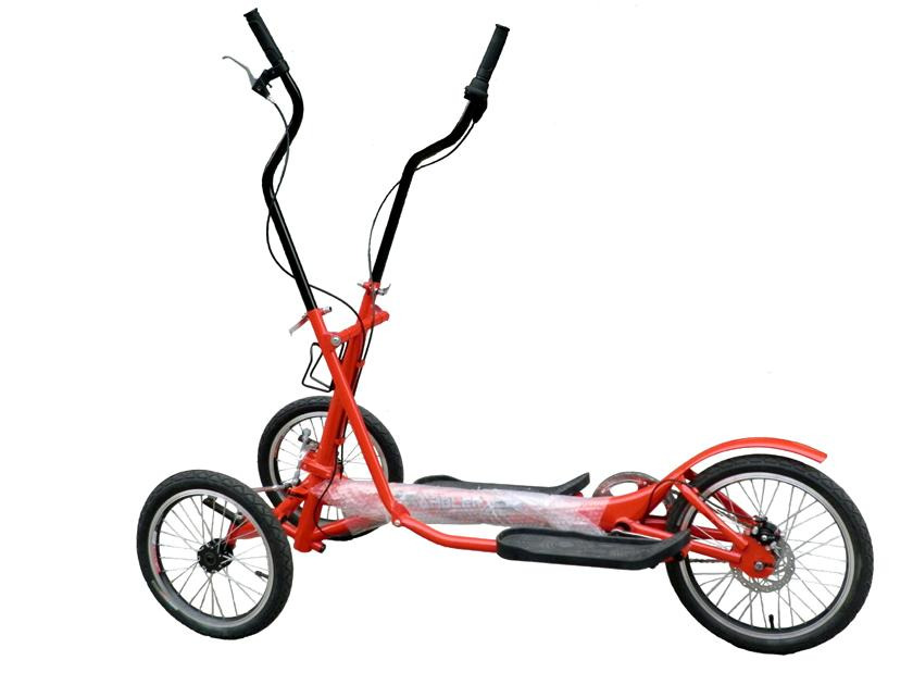 3 Wheeled Mobile Tricycle 3 Speed Fitness Exercise Bike ...