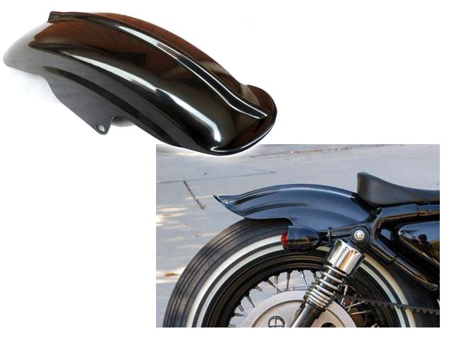 Rear Fender For Harley Sportster XL Solo Cafe Racer Bobber Chopper