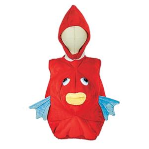 Baby toddler red fish halloween costume 12 18 months one for Baby fish costume