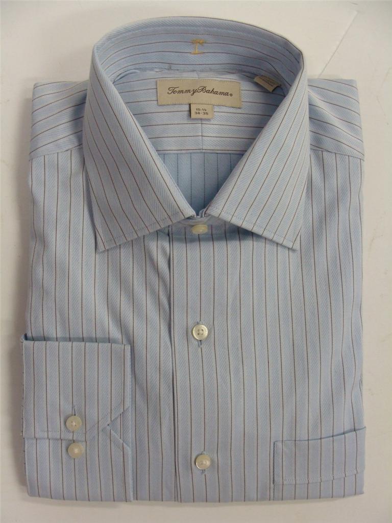 Tommy bahama men 39 s long sleeve dress shirt assorted colors for Tommy bahama long sleeve dress shirts