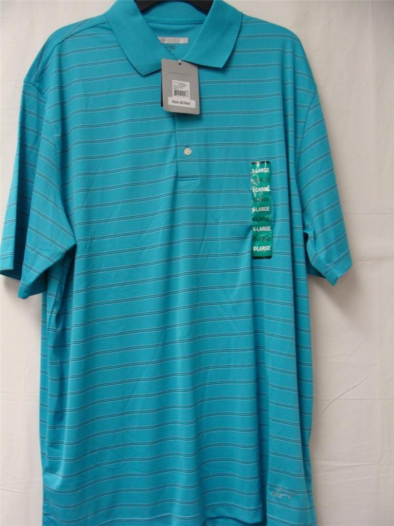 Greg norman signature series polo play dry shirts various for Greg norman ml75 shirts
