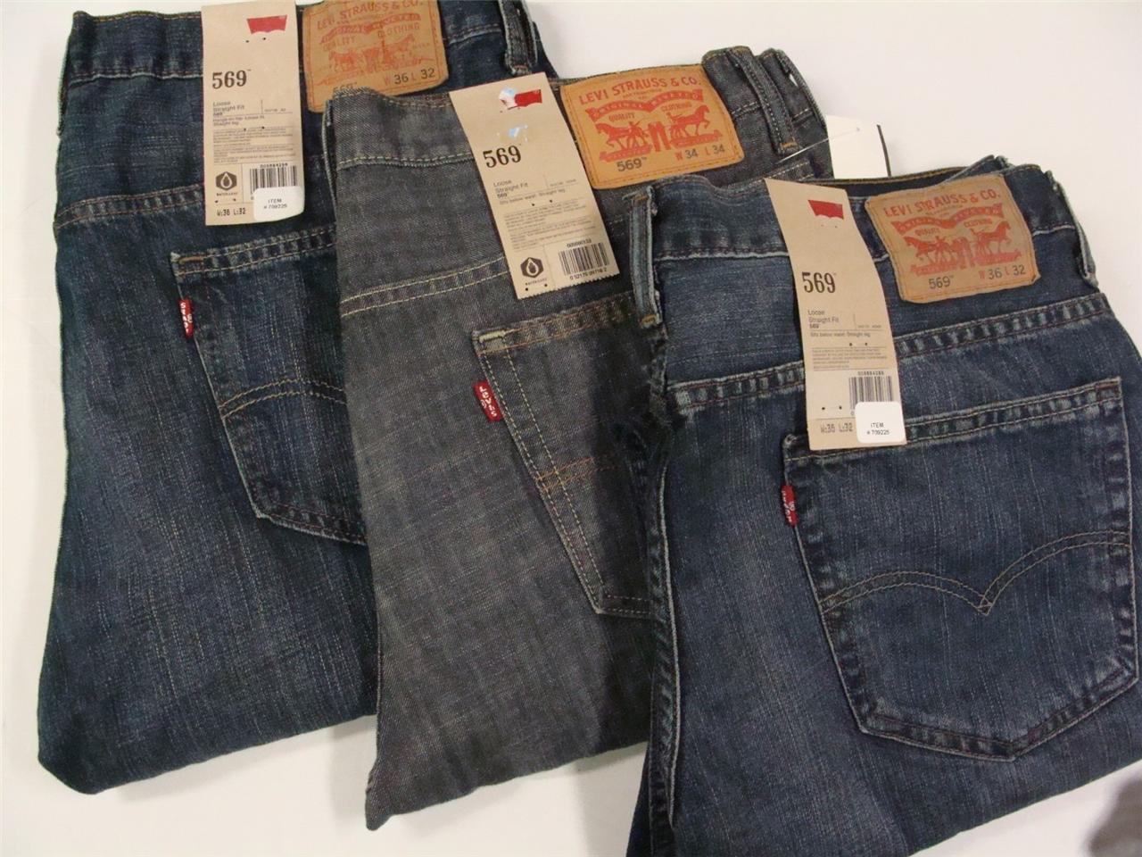 Levis 569 Mens Jeans