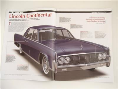 48 lincoln continental goldfinger james bond car collection magazine ebay. Black Bedroom Furniture Sets. Home Design Ideas
