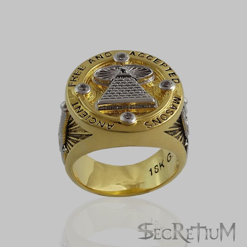 Ancient Free And Accepted Masons Rings