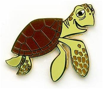 Finding Nemo Turtle Coloring Pages