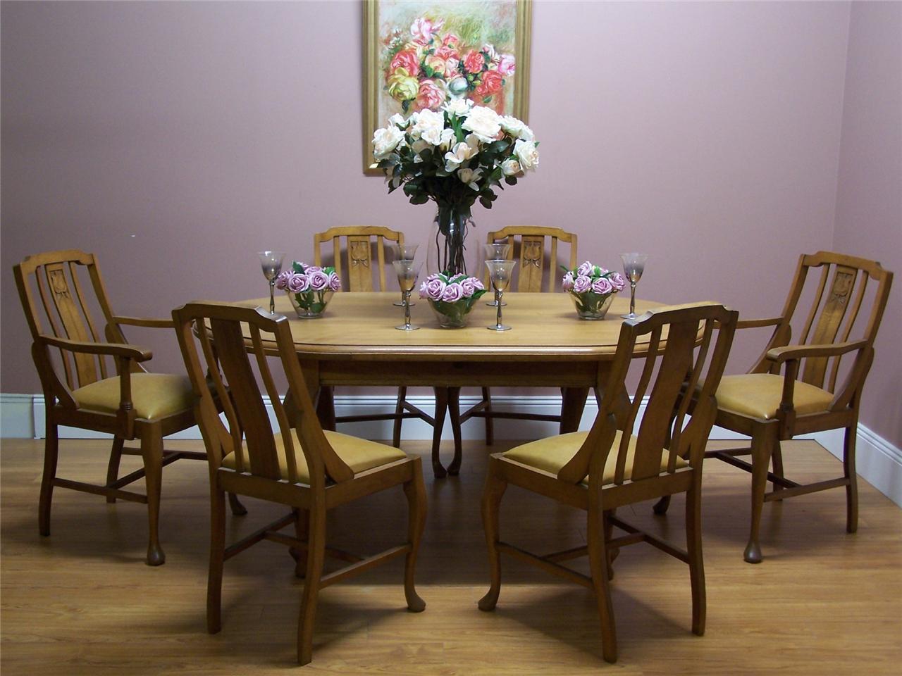 Antique Vintage Australian Maple Dining Kitchen Table  : 696516024o from www.ebay.com.au size 1280 x 960 jpeg 123kB