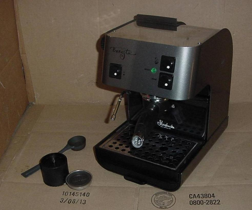 starbucks espresso machine barista