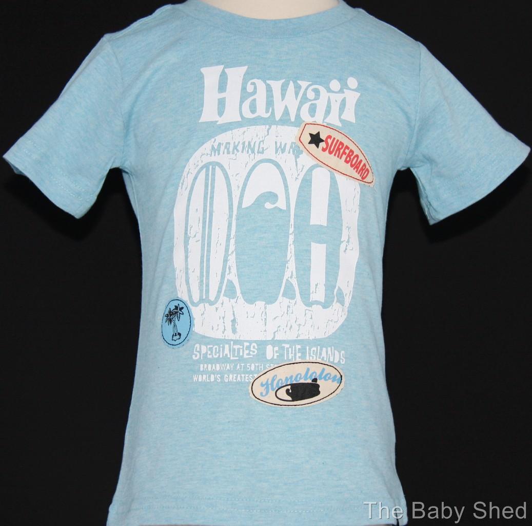 New Boys T Shirt Tee Top Tshirt Kids Summer Surf Wear Size