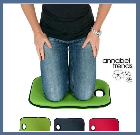 Garden kneeling mat annabel trends memory foam pad for Gardening kneeling pads
