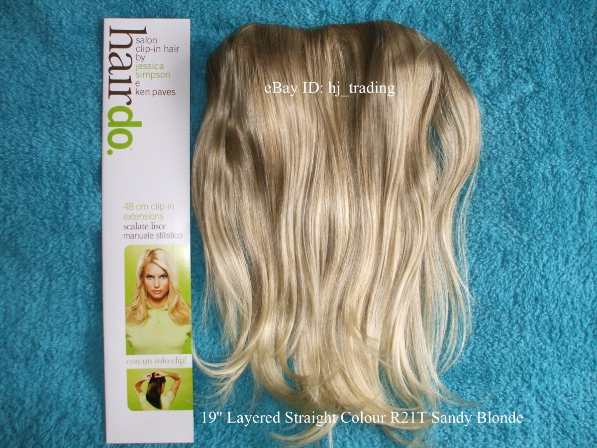 Jessica Simpson Swedish Blonde Hair Extensions Human Hair Extensions
