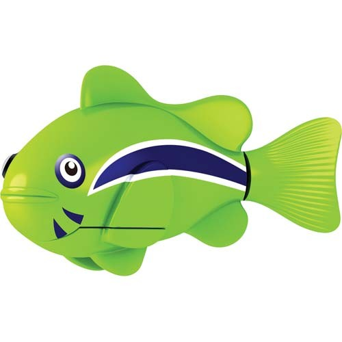 Robo fish by zuru water activated lifelike electronic for Robot fish toy