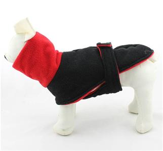 Pet Clothes Winter Dog Coats Turtleneck Fleece Warm for Small Large