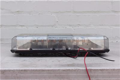 Federal Signal Highlighter Led Mini Lightbar Flashing Warning Beacons 12v Amber Ebay