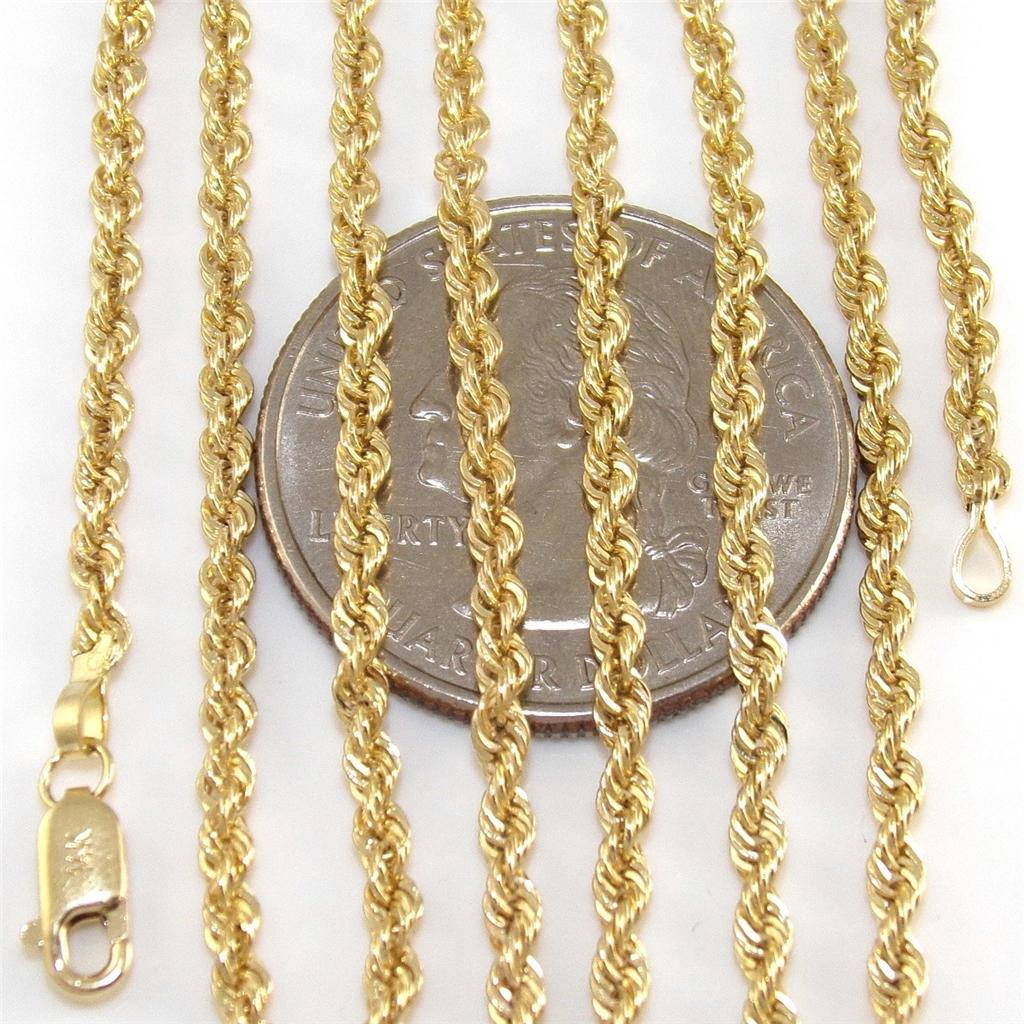 real solid gold chains