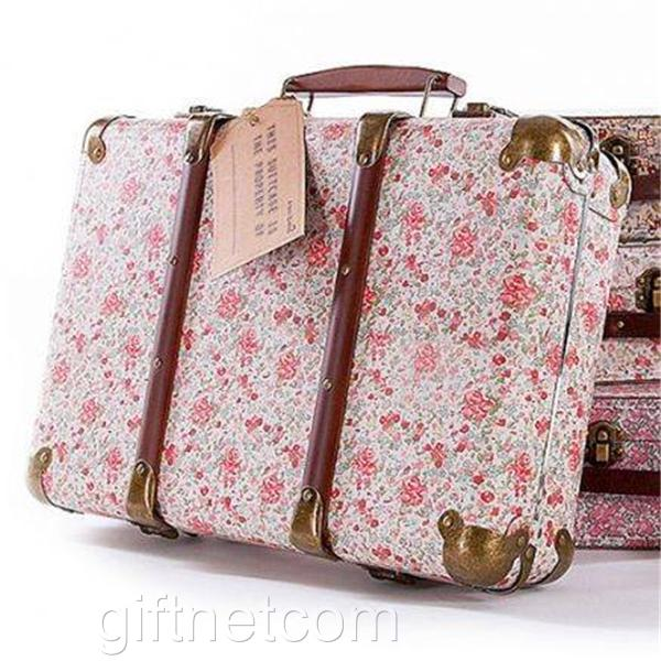 Vintage-Floral-Suitcases-Set-Of-3-Storage-Boxes-And-A-Choice-Of-School-Suitcase