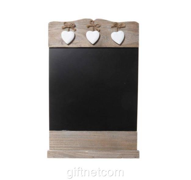 Shabby Chic Blackboard Wooden Chalkboard Messages Memo Shopping List Home Decor