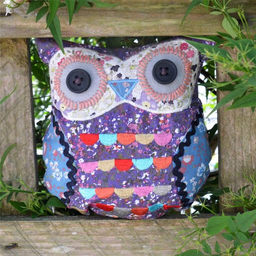 New Baby Owl Cushion Vintage Style Free Post And Packaging Owl Decoration