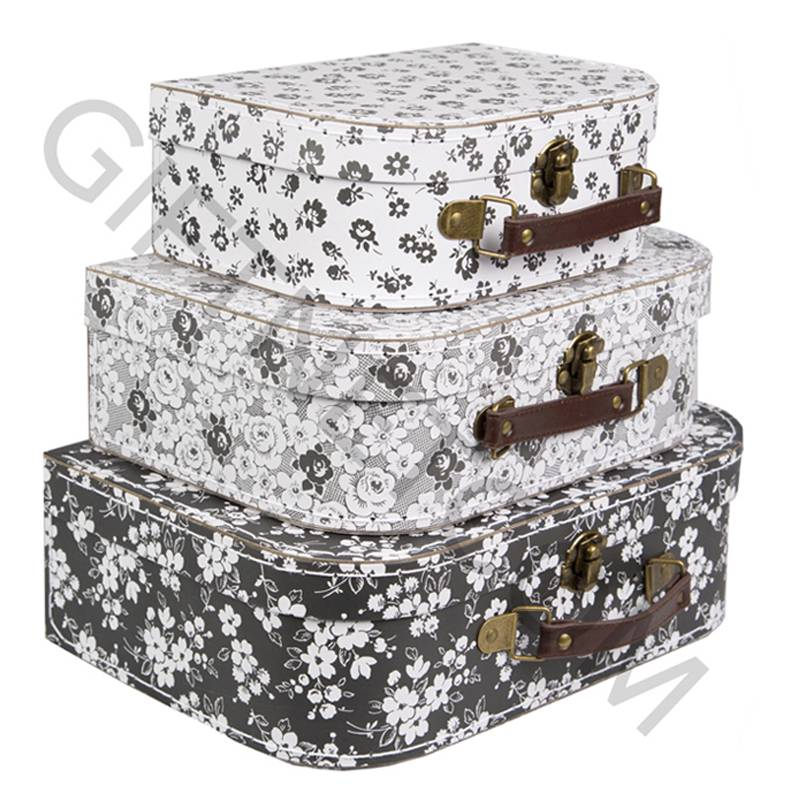 Wedding Gift Storage Box : ... Retro-Vintage-Suitcase-Storage-Case-Boxes-Wedding-Gift-Home-Decoration