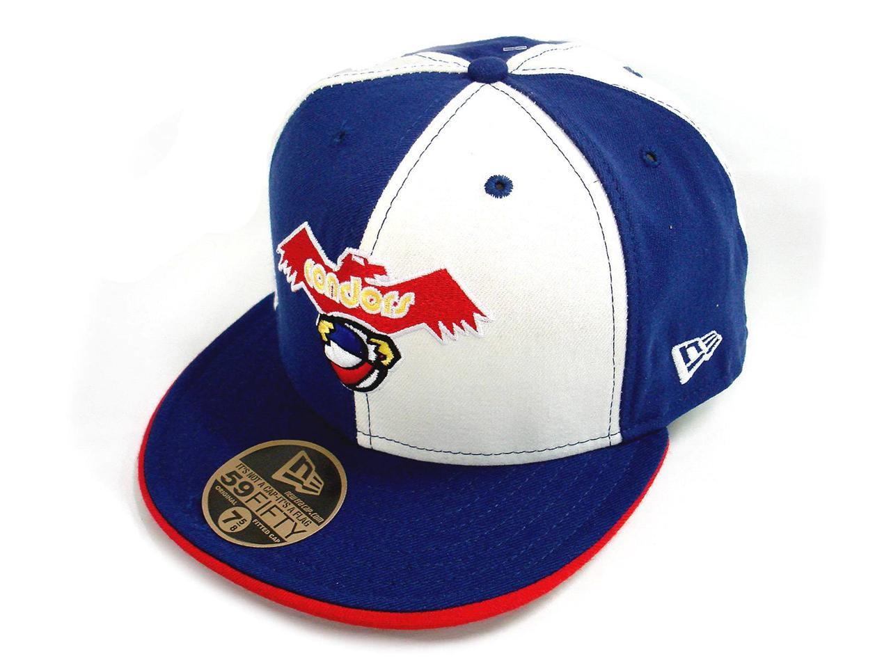 Authentic-New-Era-5950-59Fifty-Wool-Fitted-ABA-Baseball-Cap-Pittsburgh-Condors
