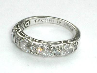 Tacori Cz  China Ring