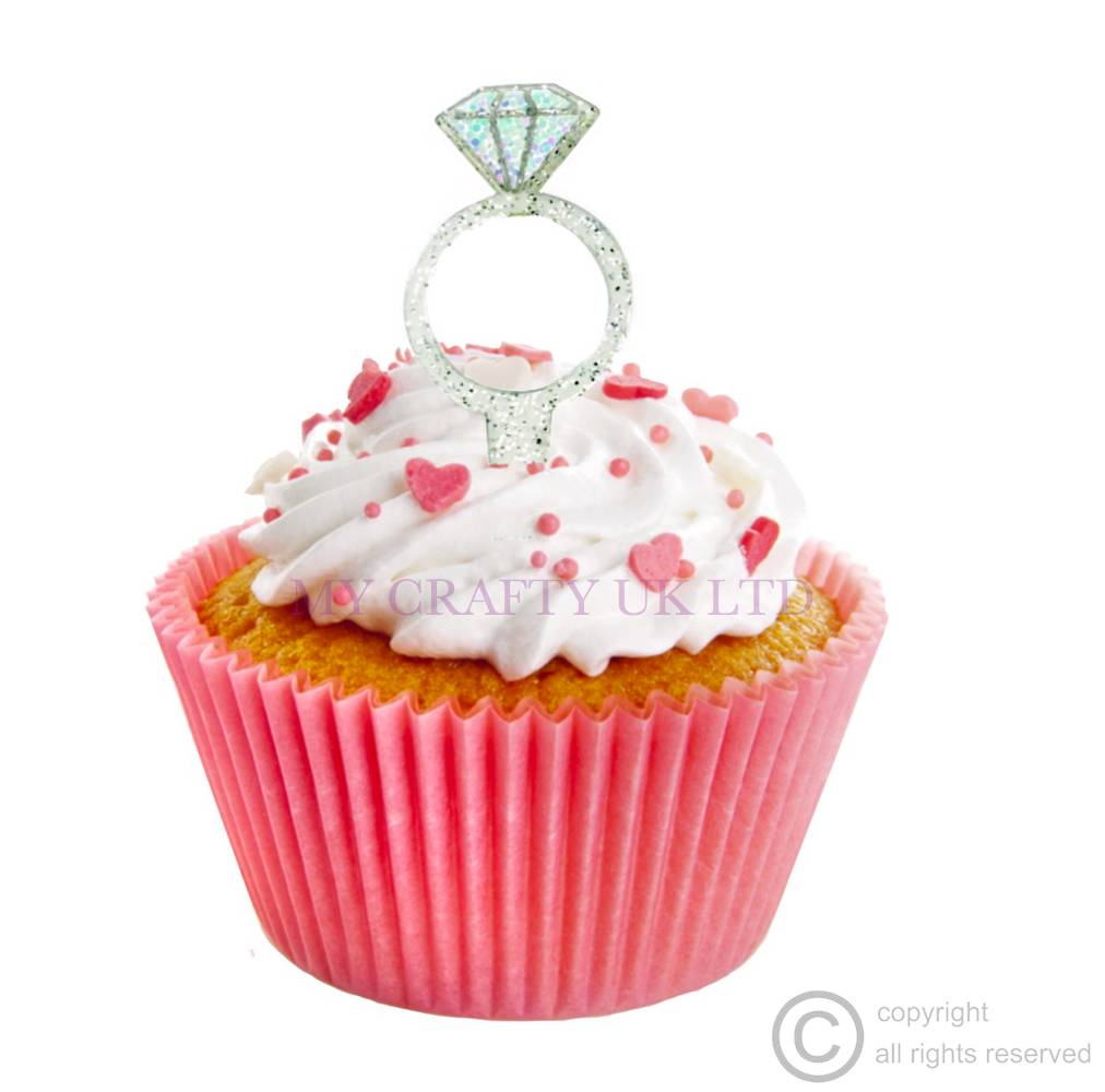 Cupcake Ring Toppers Uk
