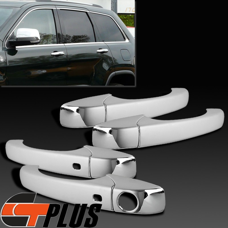 05 10 Chrysler 300C 11 13 Jeep Grand Cherokee Chrome Door Handle Moulding Cover