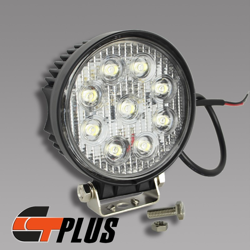 Led Lights For Lawn Tractor : Spot beam w v led work light round fog lamp yacht off road tractor farm ebay