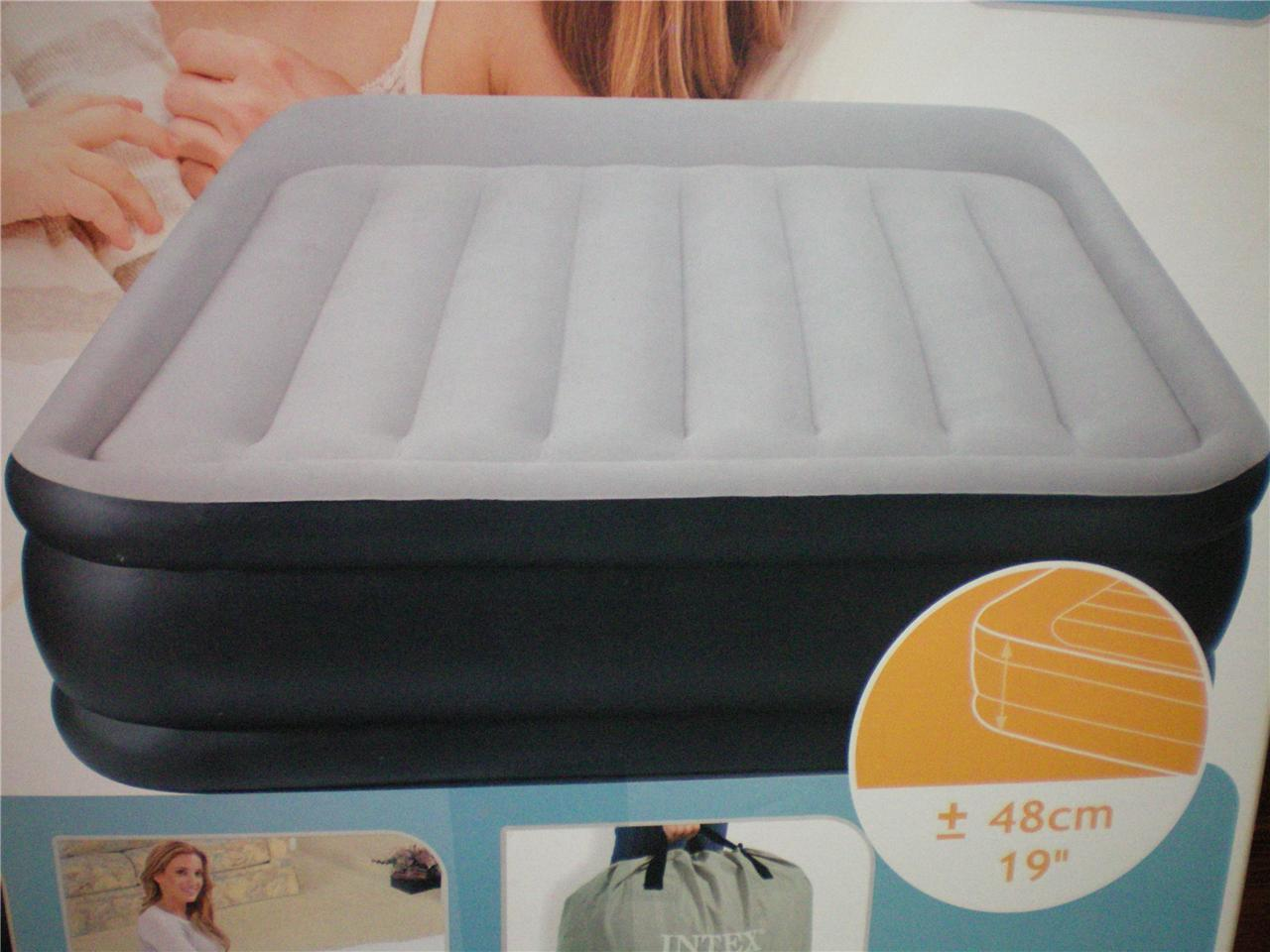 Air Bed Queen Size New W Inbuilt 240v Pump Self Inflatable