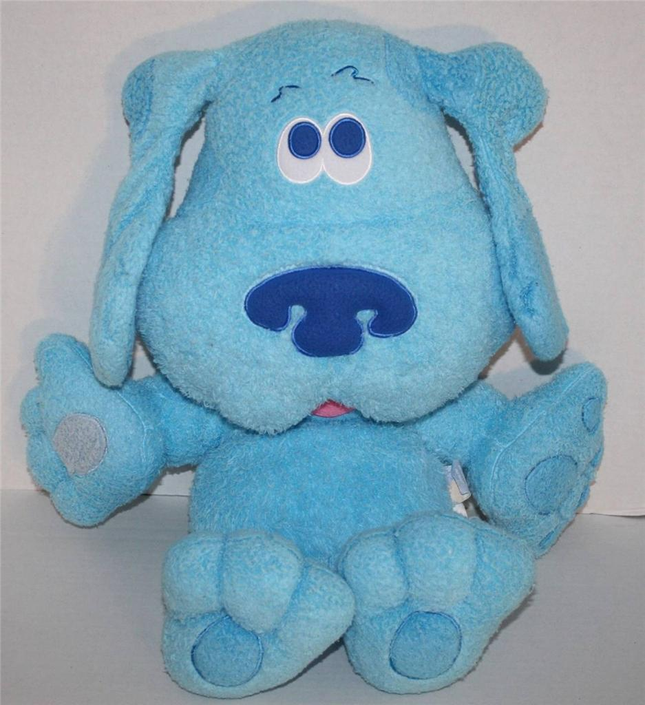 Blues Clues Dog plush large stuffed animal big jumbo 24 puppy Nick Jr pillow eBay