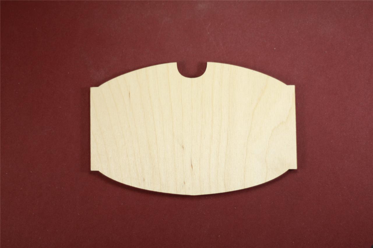 Tavern plaque shape unfinished wood laser cut shapes for Wood plaques for crafts