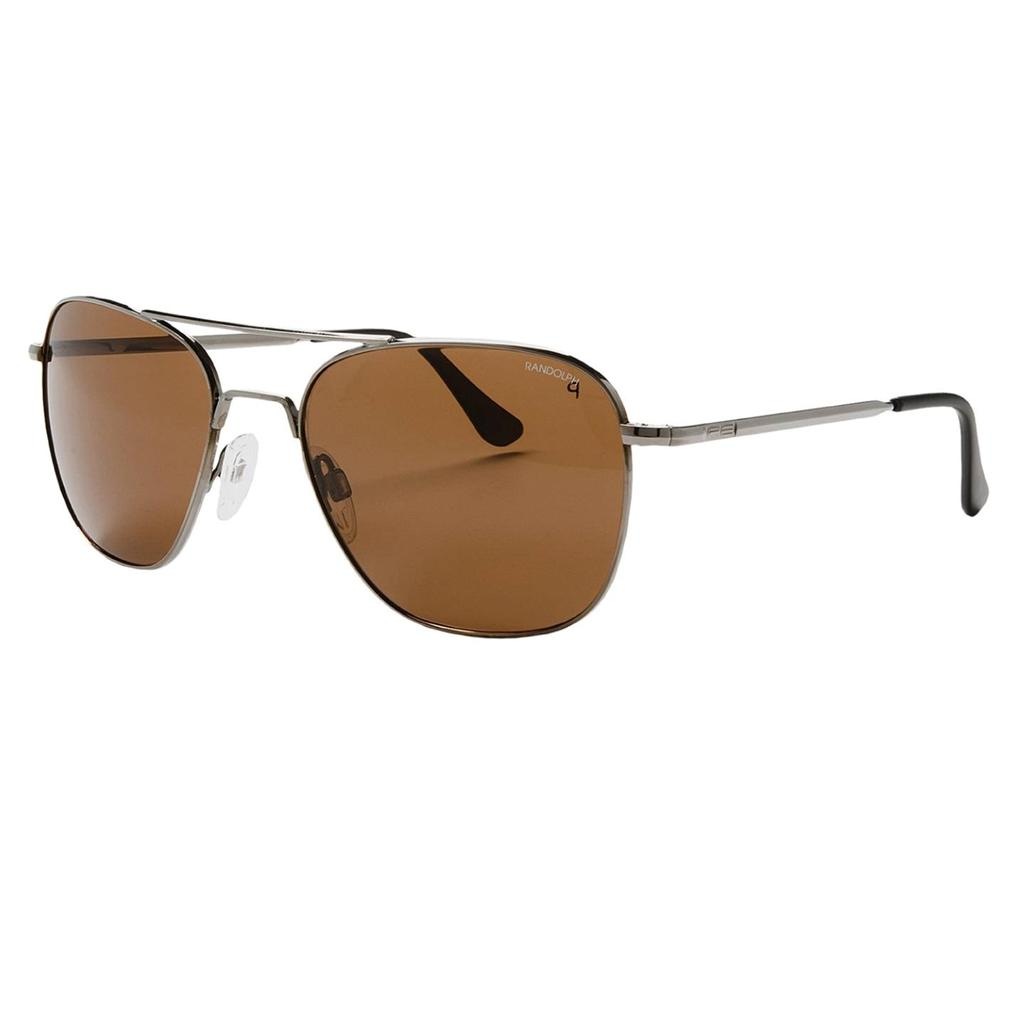 new randolph engineering re 55mm aviator sunglasses glass