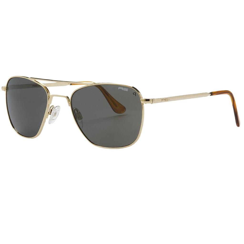 new randolph engineering 52mm aviator sunglasses glass