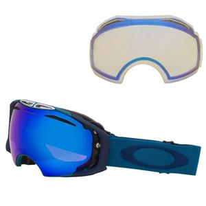 oakley iridium  blue/blue iridium