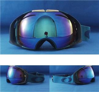 oakley blue iridium goggles  blue iridium goggles