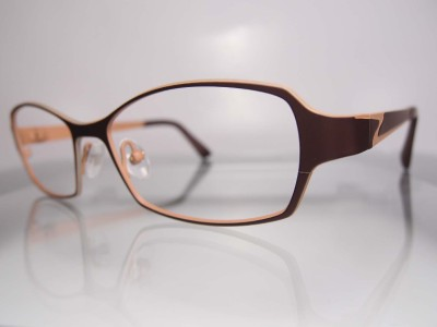 Danish Designer Eyeglass Frames : Prodesign Denmark 1381 Titanium Contemporary Danish ...
