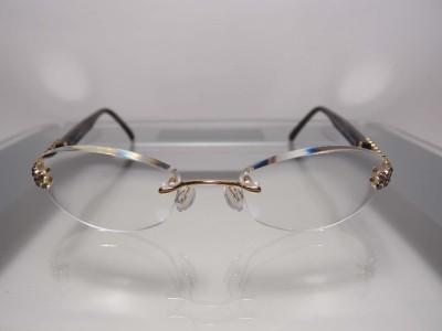 Eyeglass Frames With Swarovski Crystals : USD613 Daniel Swarovski S134 Light Amethyst Crystal 23KT GP ...