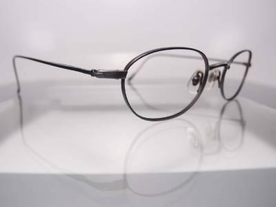 Calvin Klein Eyeglass Frames Titanium : USD210 Calvin Klein Titanium Greyish Blue Lightweight ...