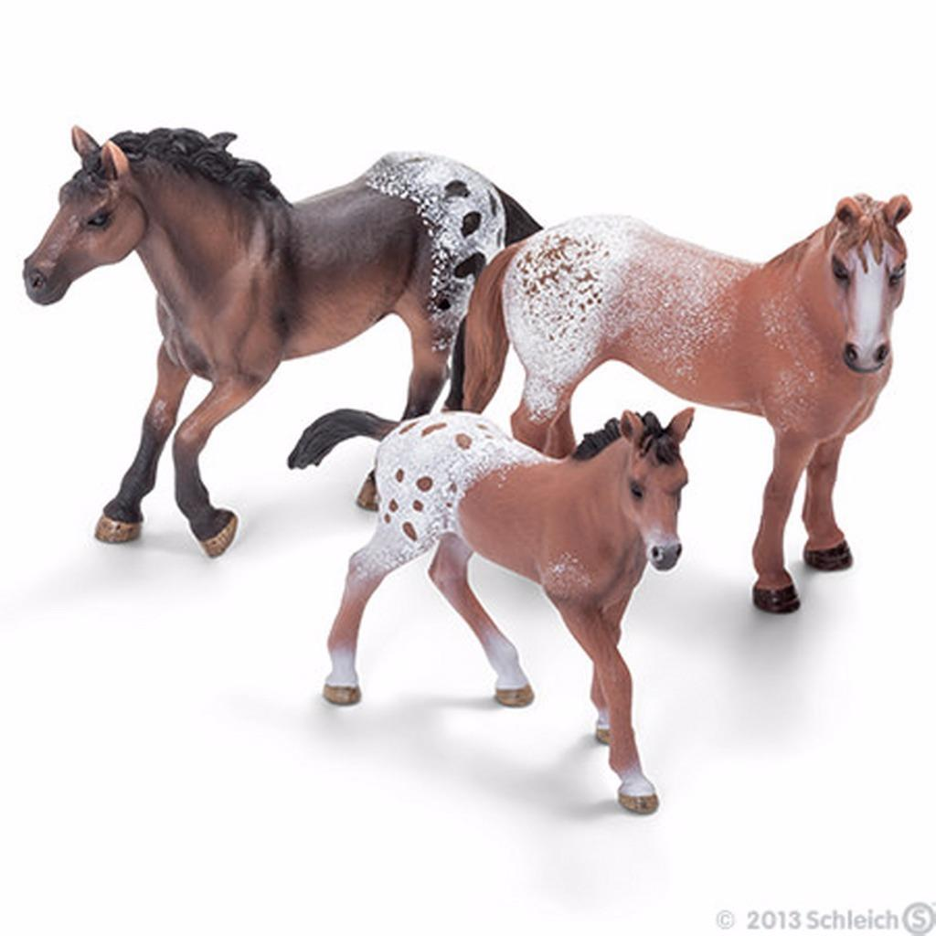 Toy Of Horses : Schleich world of nature farm life horse families choice