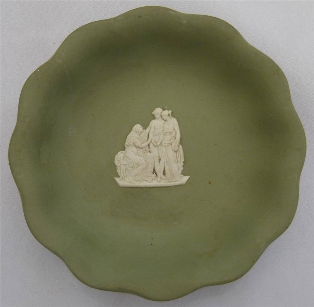 Wedgwood-Tableware-Jasper-Scalloped-Round-Pin-Dish-Various-Colours-and-Reliefs