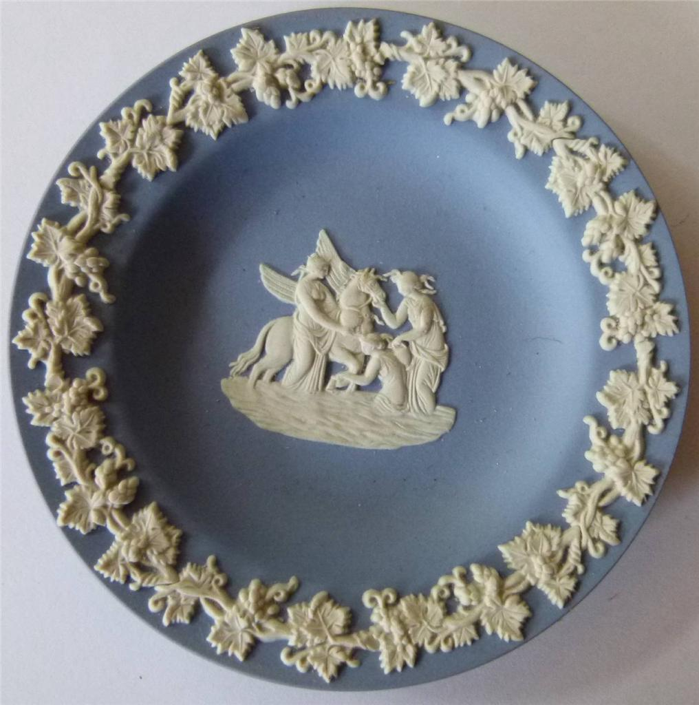 Wedgwood-Tableware-Blue-Jasper-Compotier-Sweet-Pin-Dish-Classical-Reliefs